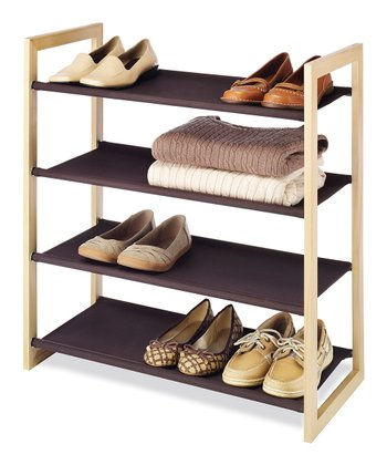 Espresso Four-Tier Shelf