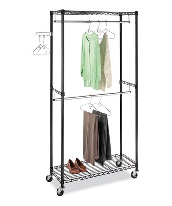 Black Supreme Garment Rack