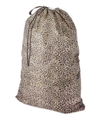 Leopard Dura-Clean Laundry Bag