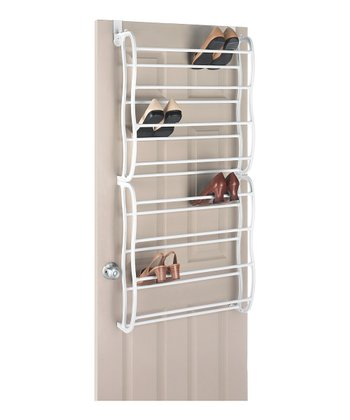 24-Pair Shoe Rack