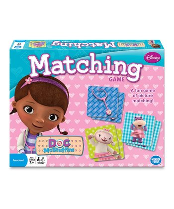 Doc McStuffins Matching Game Set