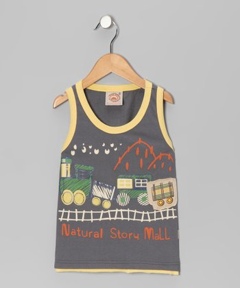 Gray 'Natural Story' Tank - Infant, Toddler & Boys