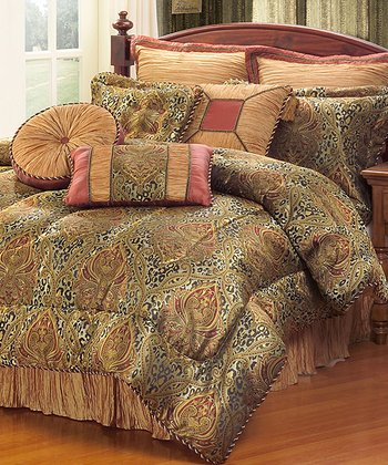 Mombasa Seven-Piece California King Comforter Set