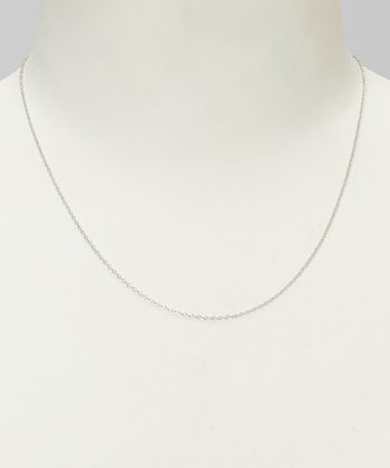 Sterling Silver Rollo 18'' Chain