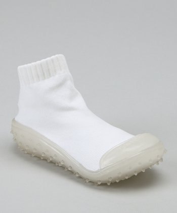 White Crystal Gripper Shoe