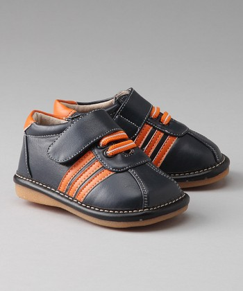 Blue & Orange Erik Squeaker Shoe