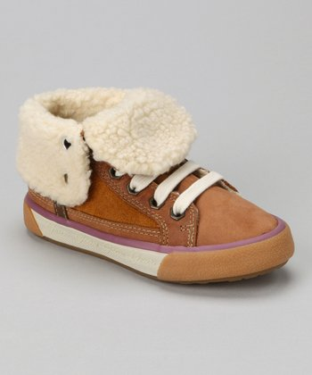 Camel Jr Witty Foldover Hi-Top