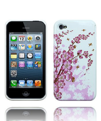 Pink Orchid Flower Case for iPhone 4/4S