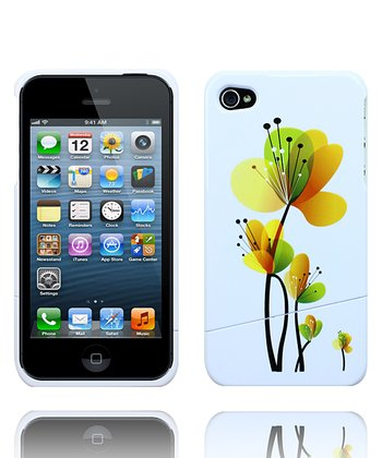 Yellow Blooming Flower Case for iPhone 4/4S
