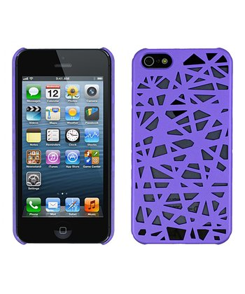 Purple Birds Nest Case for iPhone 5