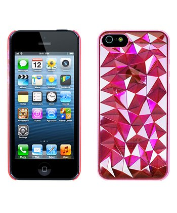Pink Spiked Case for iPhone 5