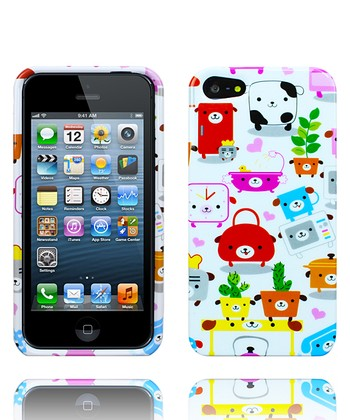 Animal Flower Pot Case for iPhone 5
