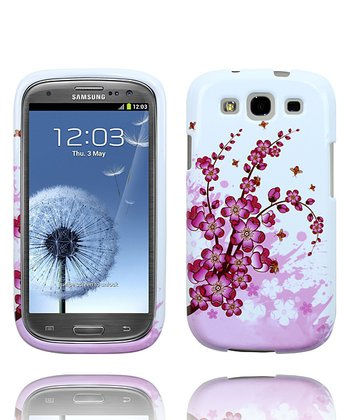 Pink Orchid Flower Case for Samsung Galaxy S III