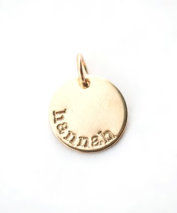 Gold 14k Personalized Charm
