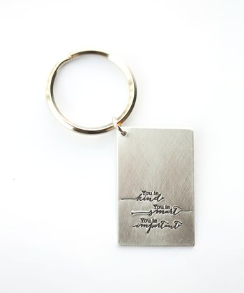 Silver Expressions 'You Is Kind' Key Chain