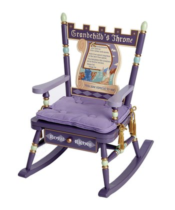 'Grandchild's Throne' Rocker