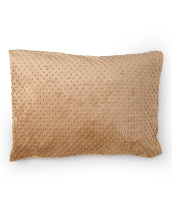 Cappuccino Minky Pillowcase