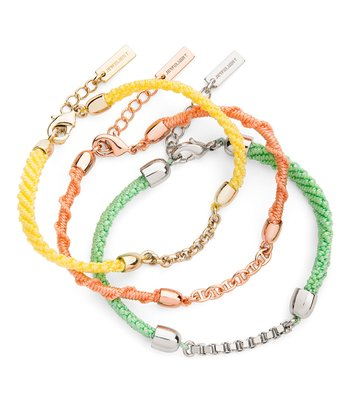 Bright Tangerine Dream Bracelet Set
