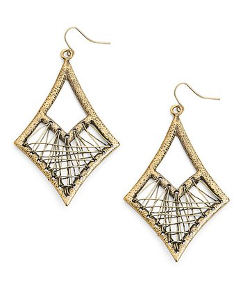 Gold Urban Traveler Earrings