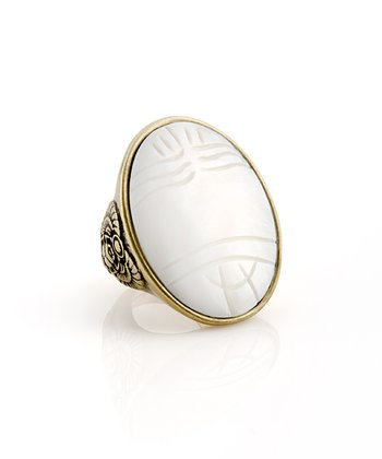 Mother-of-Pearl Luxor Ring