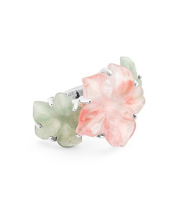 Silver Pretty Posies Ring