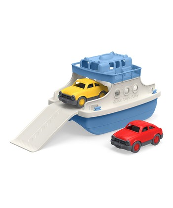 Mini Cars & Ferry Boat Set