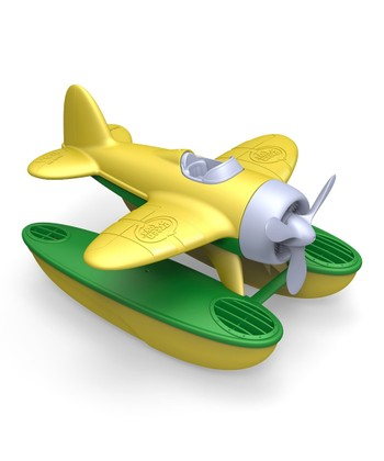 Yellow Recycled Seaplane