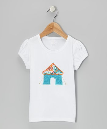 White Bombay Top - Infant, Toddler & Girls