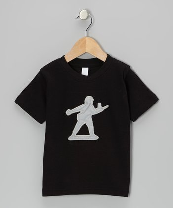 Black Toy Soldier Tee - Infant, Toddler & Boys