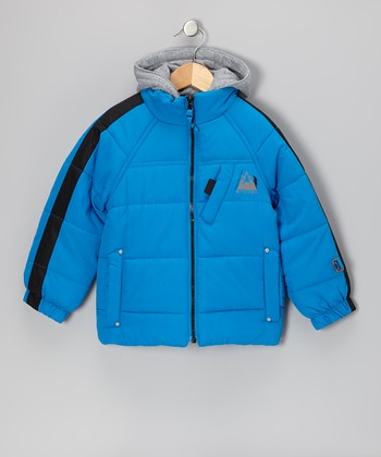 Blue Protection System Skydiver Puffer Jacket - Toddler & Boys