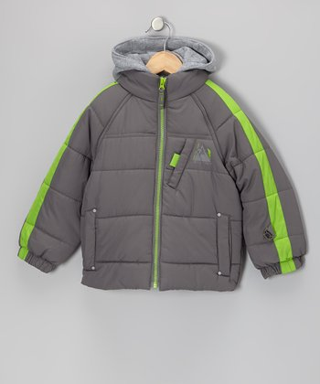 Smoked Pearl Protection System Puffer Jacket - Toddler & Boys