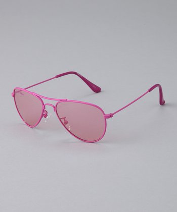 Pink Come Fly With Me Pilot Sunglasses
