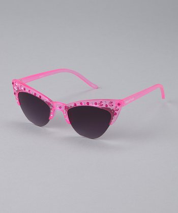 Pink Chatty Catty Sunglasses