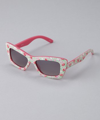 Floral Retro Active Sunglasses