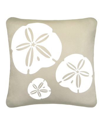 Wabisabi Star White Sand Dollar Organic Pillow
