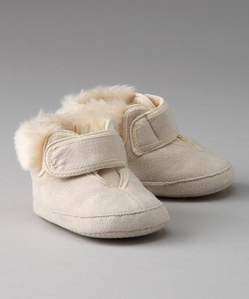Latte Sherpa Booties