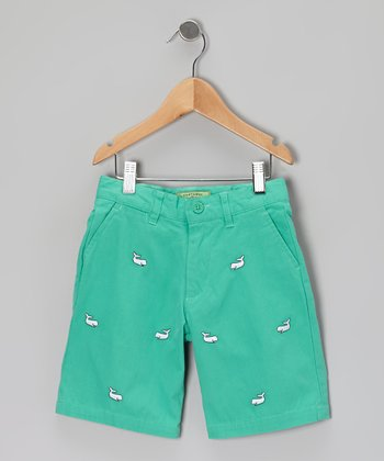 Seaglass Whale Jetties Shorts - Toddler & Boys