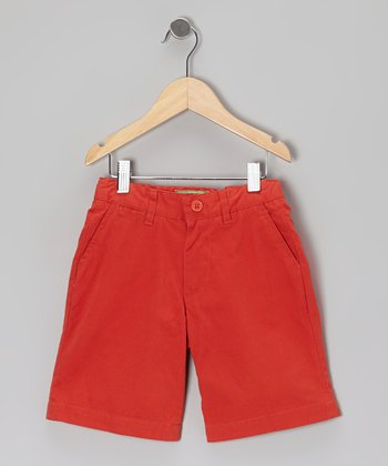 Island Red Jetties Shorts - Toddler & Boys