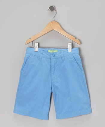 Periwinkle Jetties Shorts - Toddler & Boys