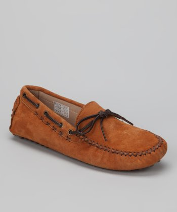 Brown Tie Moccasin