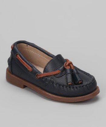 Navy Tassel Loafer