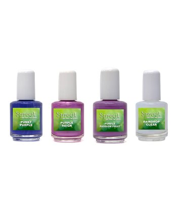 Non-Toxic Simply Purple Nail Polish Set