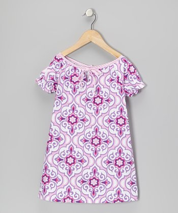 Lavender Lily Dress - Toddler & Girls