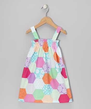 Yellow Floral Sierra Dress - Infant, Toddler & Girls