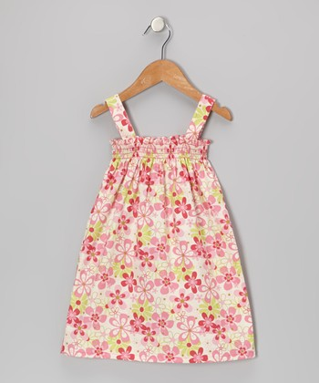 Candy Pink Floral Sierra Dress - Infant, Toddler & Girls