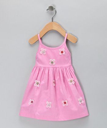 Pink Daisy Dress - Infant