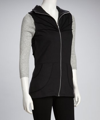 Synergy Black Organic Vest