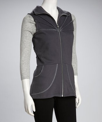 Synergy Gray Organic Vest