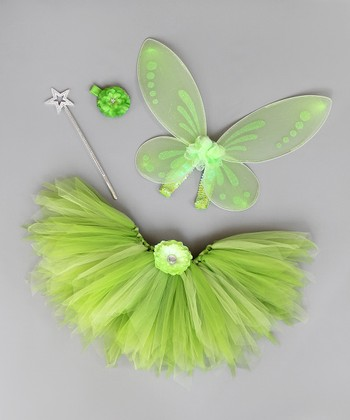Green Fairy Dress-Up Set - Infant, Toddler & Girls