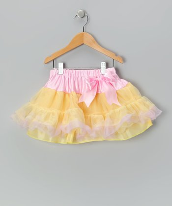 Sweet Pink Lemon Pettiskirt